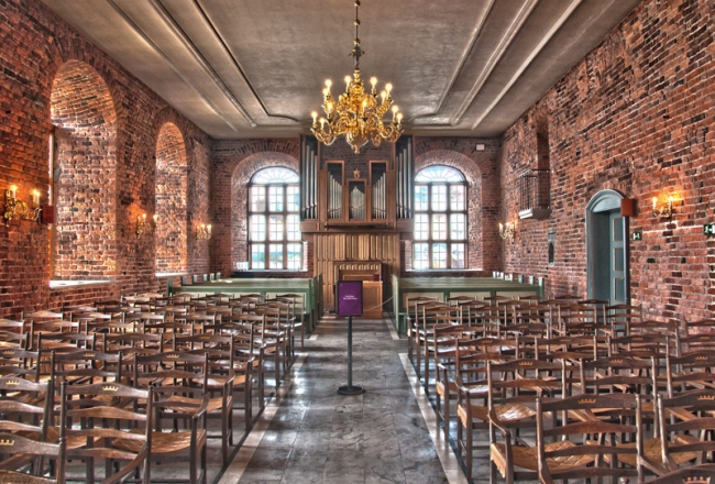 Akershus Fortress Chapel (HDR) by Matthew Cook
